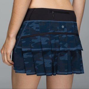 Lululemon Pace Setter Skirt Camo